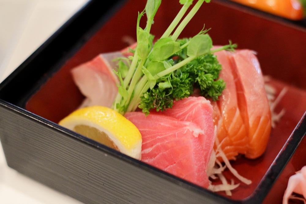 Tuna, Kingfish and Salmon.
