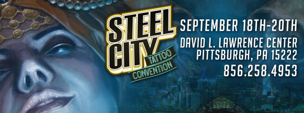 Well be at the Steel City Tattoo Convention again this year! We are SO excited and hope to see you there. Please email us to book YOUR spot for this amazing convention.