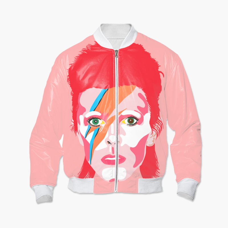 David Bowie Bomber Jacket