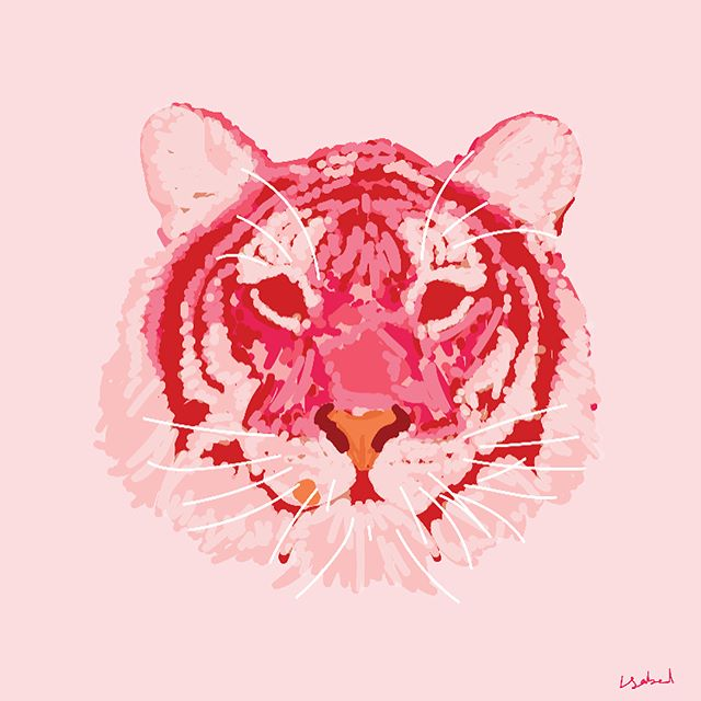 N E W  W O R K: collab w @theslowfactory for the new series #endangeredxextinct ~ I drew the #balitiger, an extinct tiger population that lived in the Indonesian island of Bali. In Bali, the last individuals were recorded in the late 1930s, although a few animals likely survived into the 1940s and possibly 1950s.