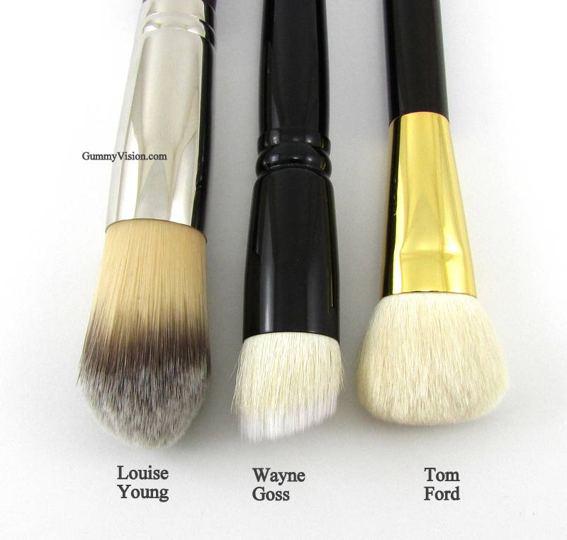 Louis Young LY34, Wayne Goss 01, Tom Ford 02 Cream Foundation Brush