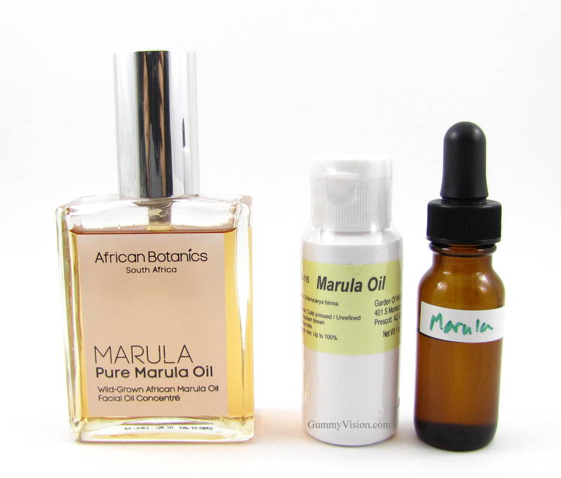 African Botanics Pure Marula Oil, Garden of Wisdom Marula Oil, 1/2 oz dropper bottle with Garden of Wisdom Marula Oil