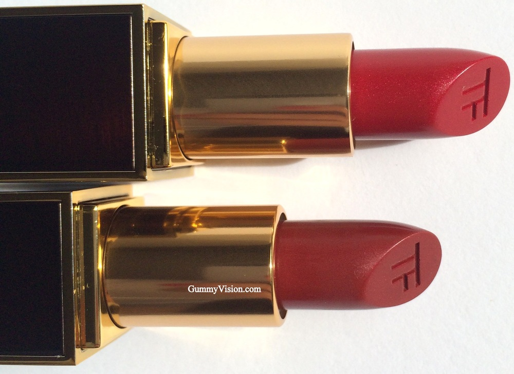 Tom Ford Lip Color in Slander (Top) & Reckless (Bottom)
