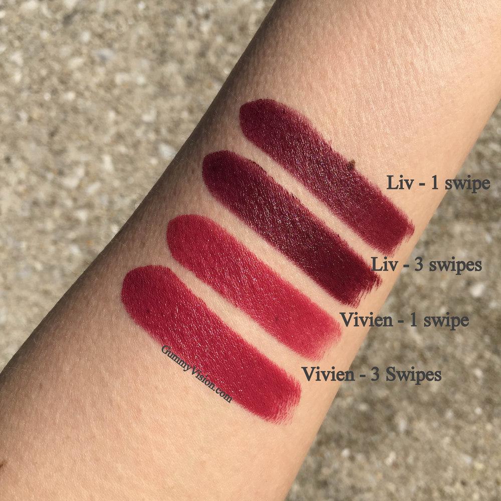 NARS Audacious Lipstick in Liv & Vivien