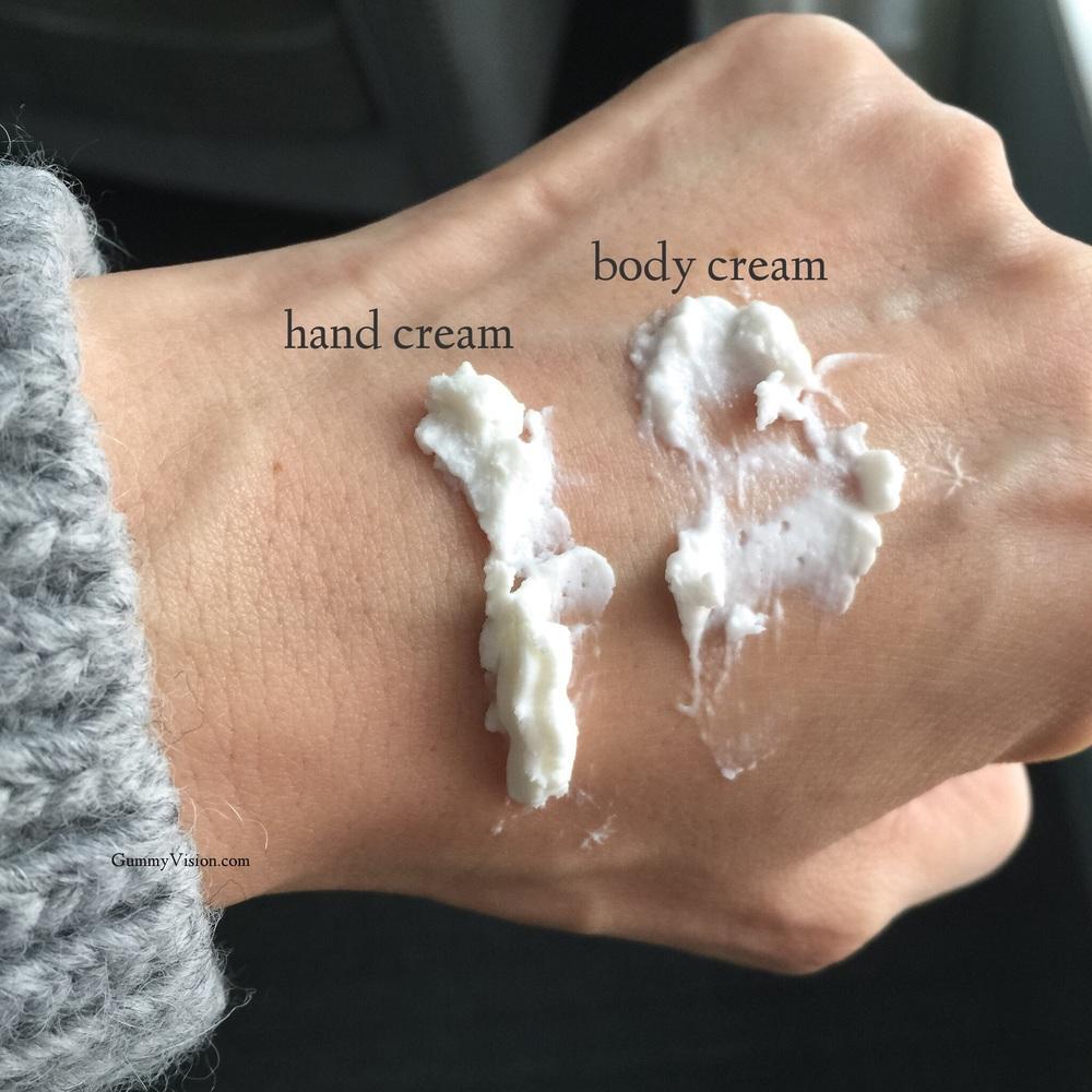 L'Occitane Whipped Hand Cream & Whipped Body Cream - www.gummyvision.com