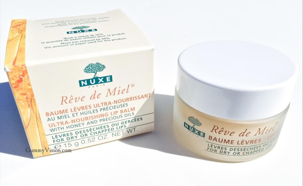Nuxe Reve de Miel Lip Balm - www.gummyvision.com