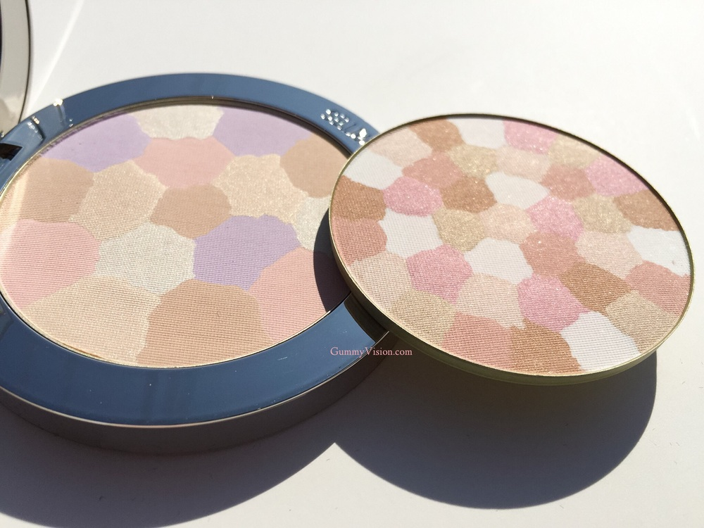 Guerlain Meteorites Compact in 03 Medium (left) & Guerlain Wulong (right) - gummyvision.com