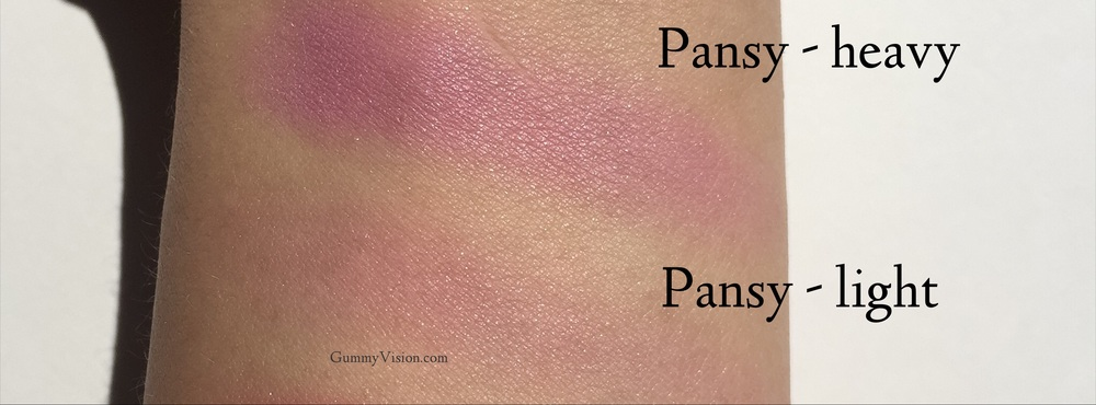 Clinique Cheek Pop swatches in Pansy Pop - gummyvision.com