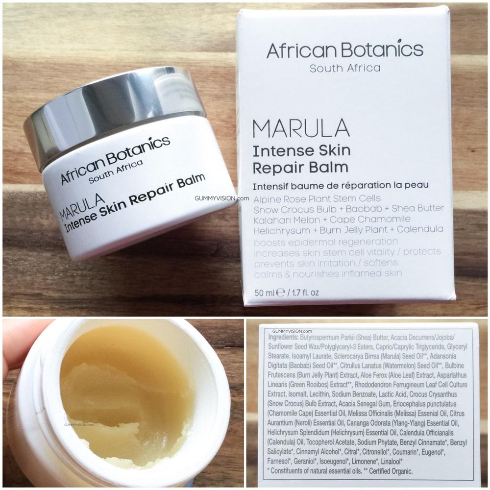 African Botanics Marula Intense Skin Repair Balm - gummyvision.com