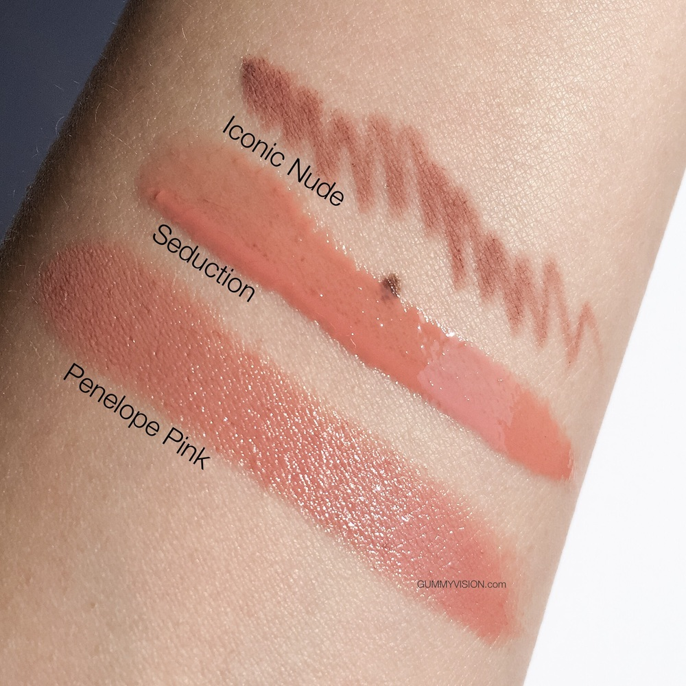 Sunlight swatches. Charlotte Tilbury 'The Perfect Nude Kiss' Set, exclusive to Nordstrom, but can be purchased individually. The set includes full sizes of the following: K.I.S.S.I.N.G. Lipstick in Penelope Pink, Lip Cheat in Iconic Nude, Lip Lustre in Seduction - gummyvision.com