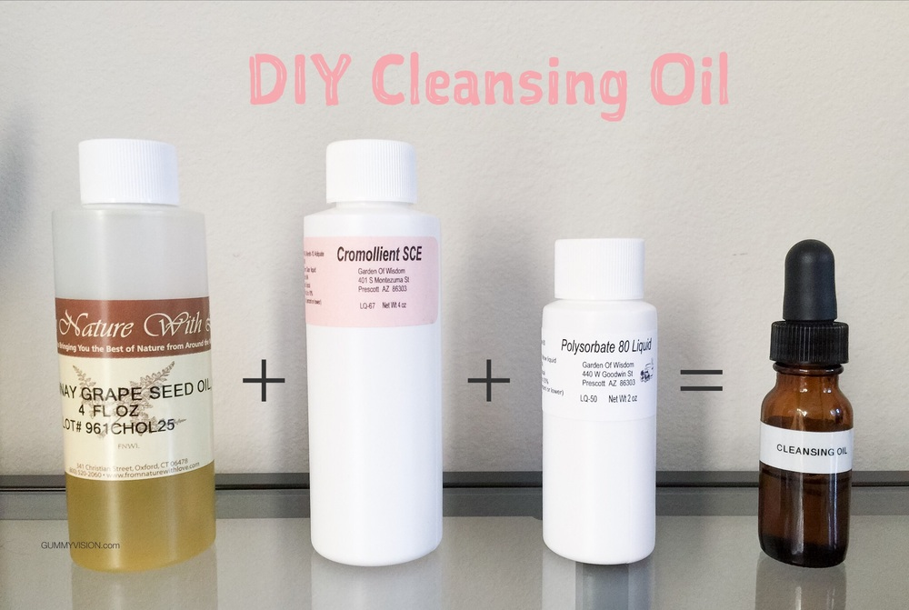 DIY Cleansing Oil - gummyvision.com