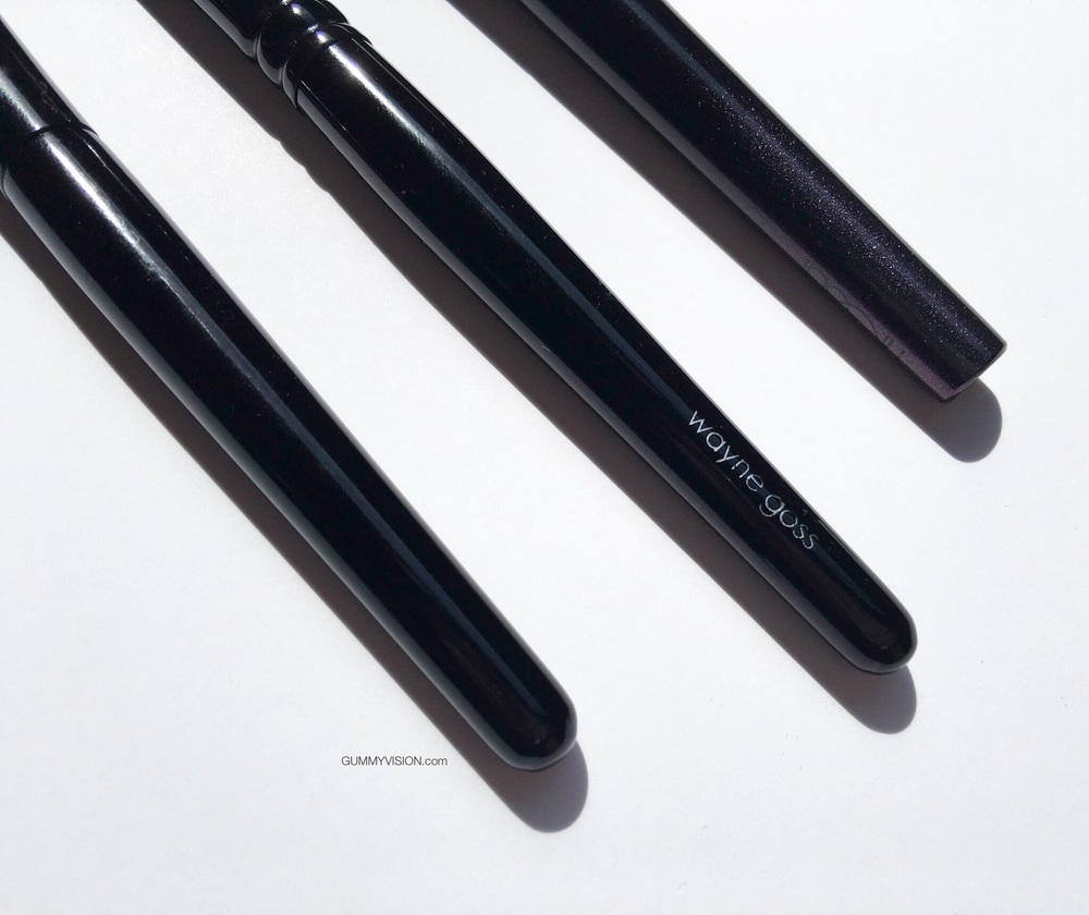L to R:Suqqu Cheek Brush, Wayne Goss 02, Surratt Cheek Brush - gummyvision.com