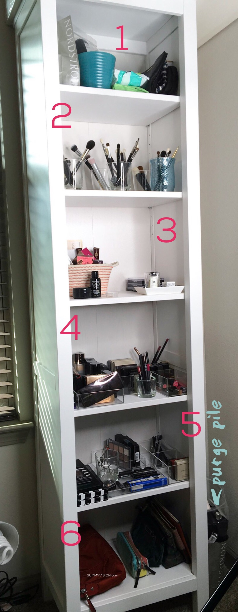 Updated Makeup Storage - gummyvision.com