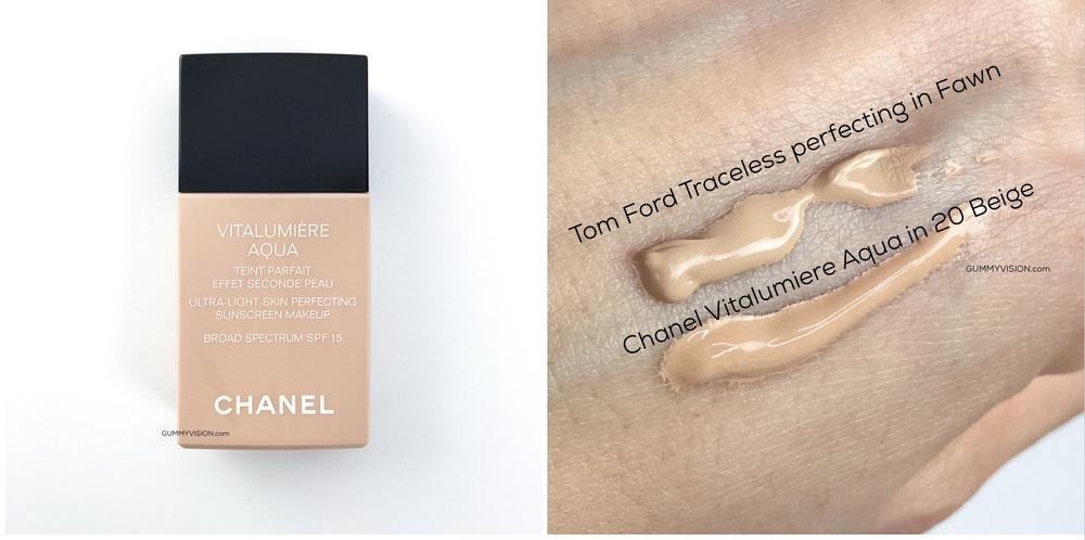 Chanel Vitalumiere Aqua in 20 Beige