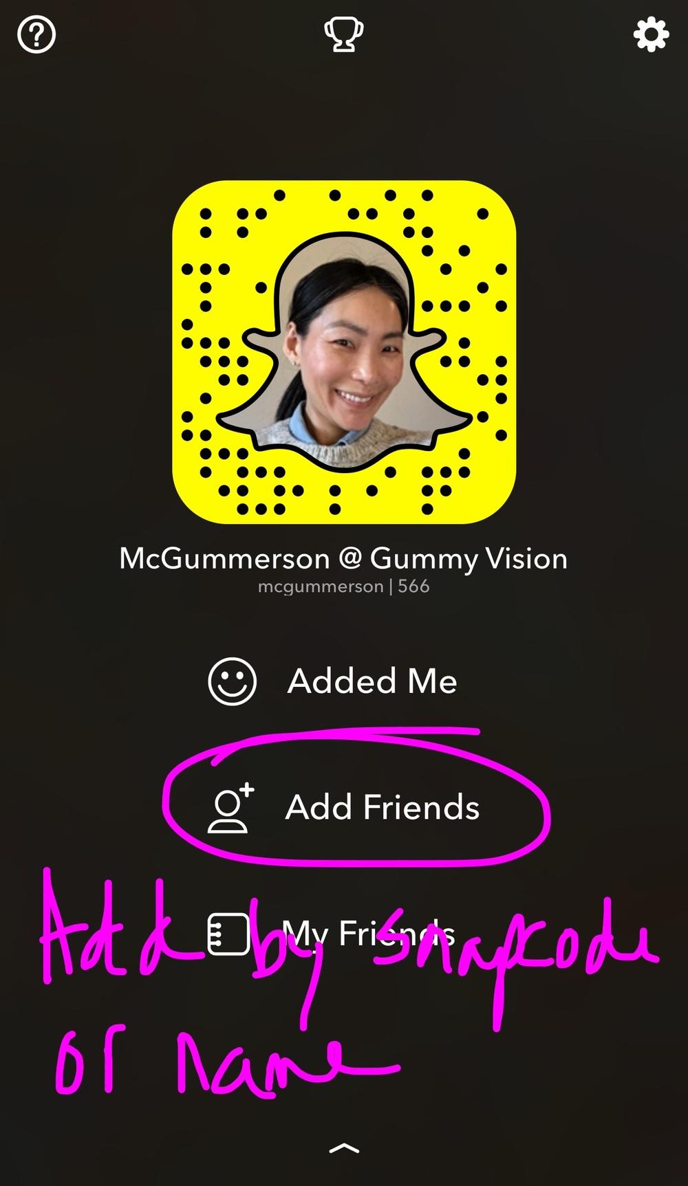 Snapchat Tutorial - gummyvision.com