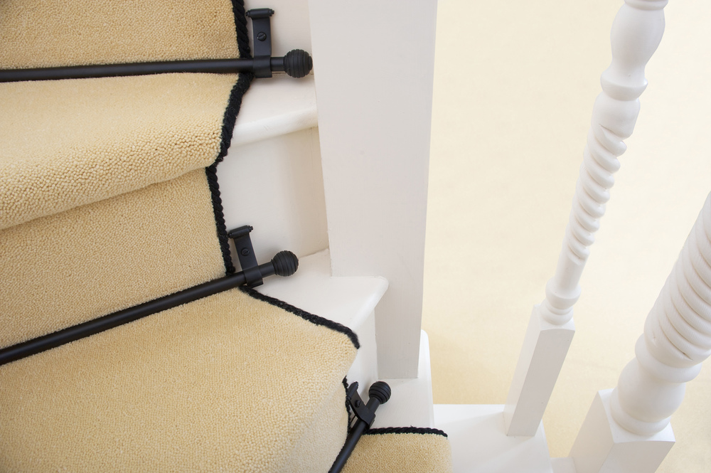 Curving Stair Rods