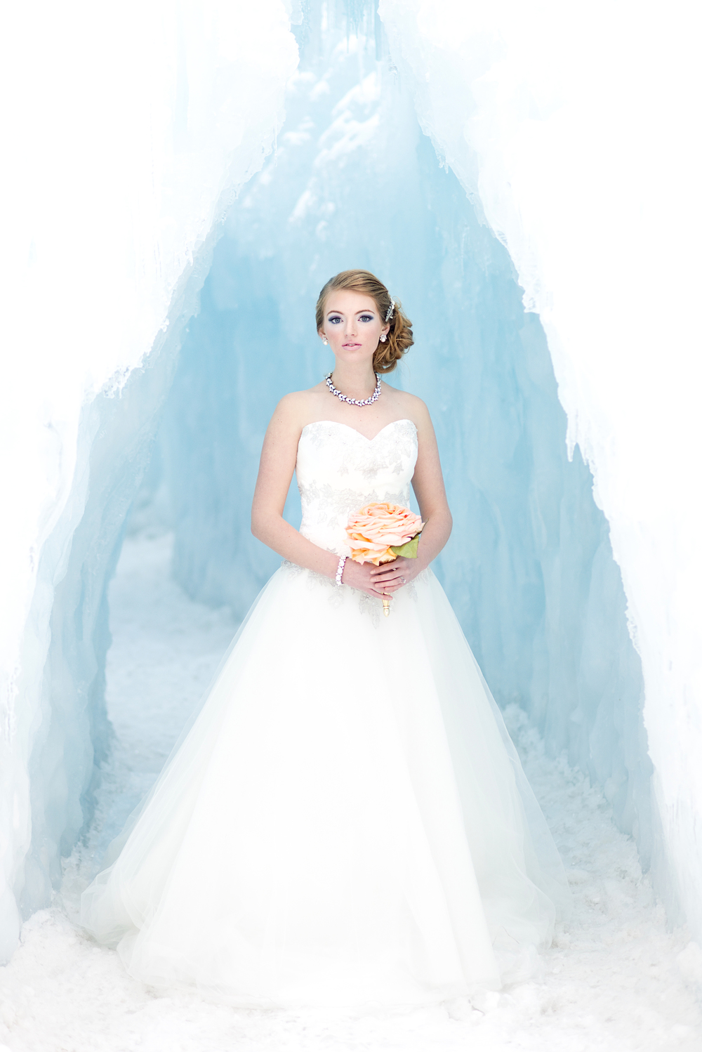 Ice Castle Composite Rose