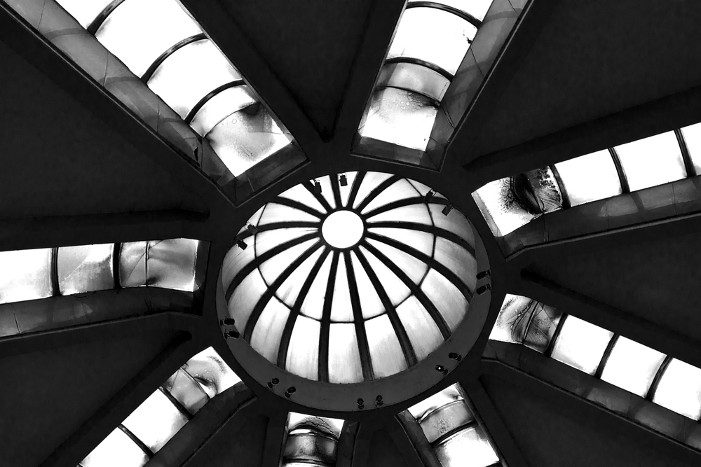 Concrete Reconstructed Post Office Ceiling  Skopje  2012