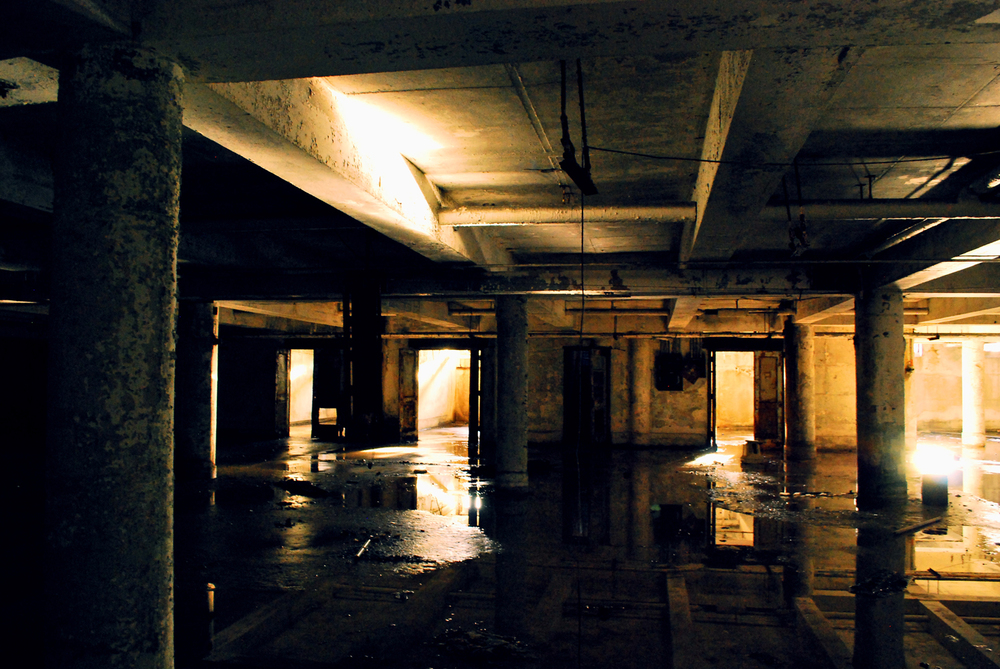 BANK BASEMENT, INDIANA, US  2009