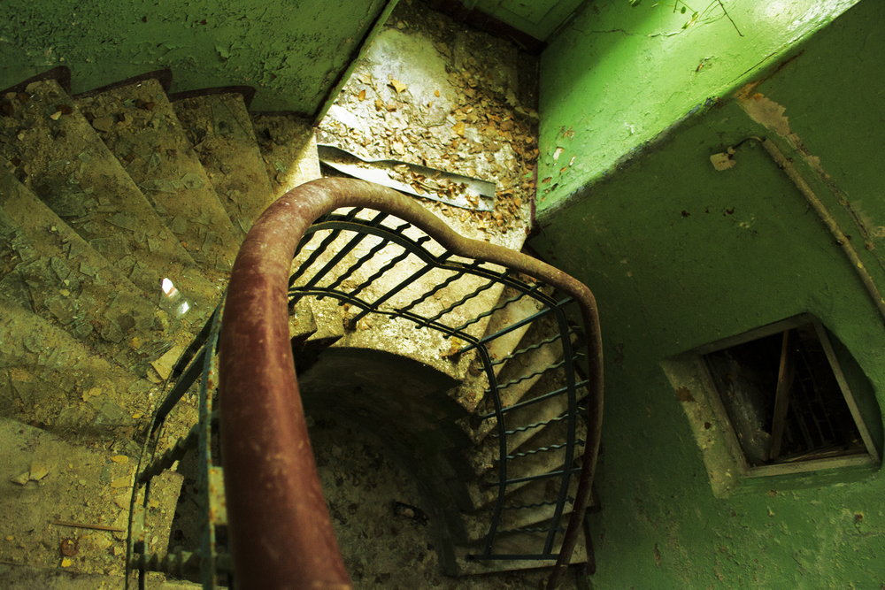 SOVIET HOSPITAL STAIRS, DE  2013