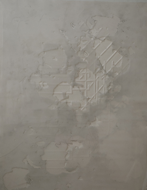 "0.0125  Plexi paper mylar and graphite  24"" x  12""   2008"