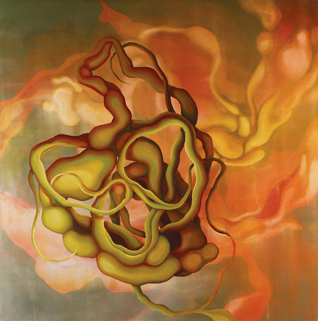 Propitious Rheotropism  Oil on canvas  2007
