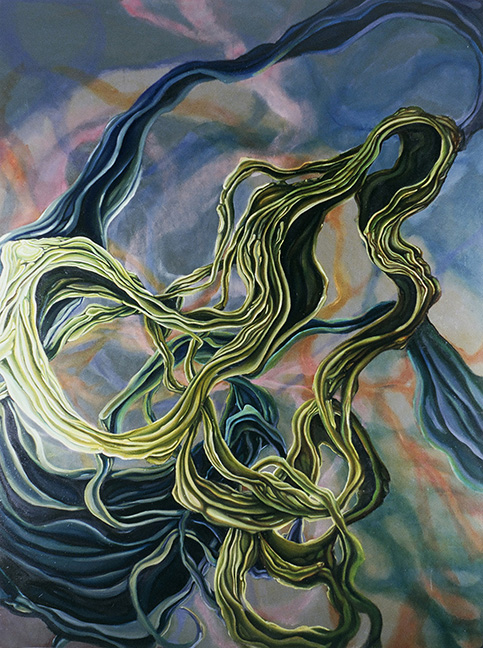 Occulation  Oil on Canvas  2005