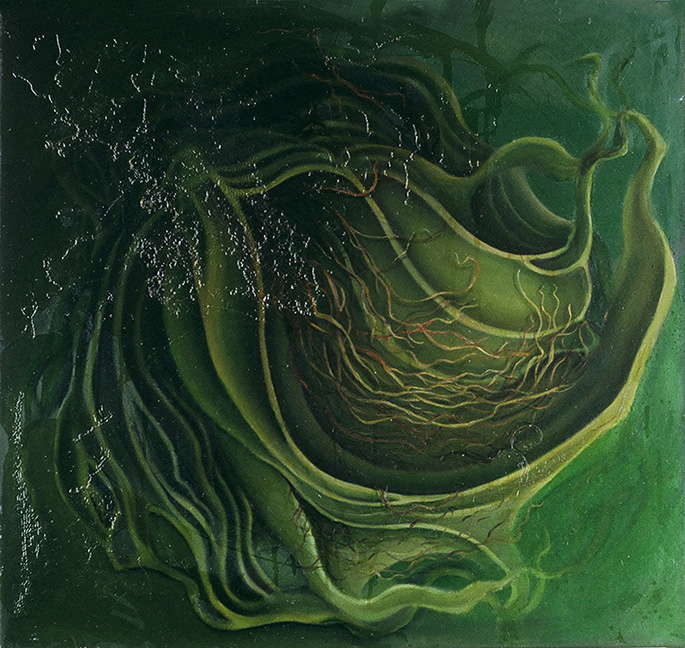 Halitrophic Incubation Oil and galkyd on canvas 2004