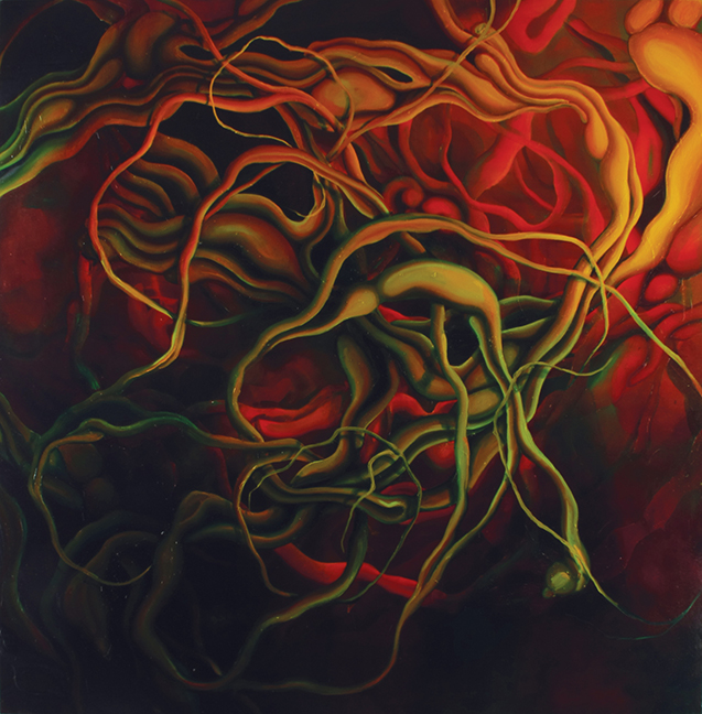 Chromatic Abberation Oil on canvas 2006