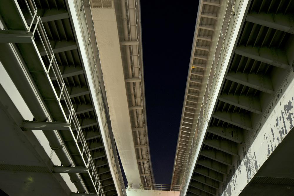 Rainbow Bridge  Tokyo  2012