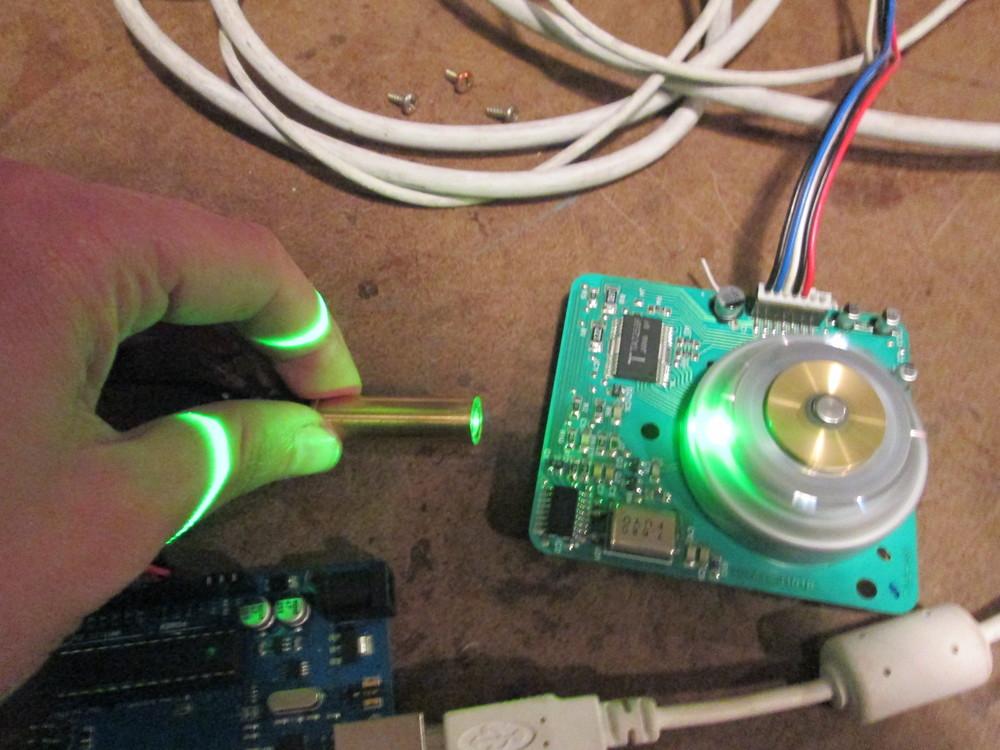 Laser Scanner Camera Projector Hannah Mishin