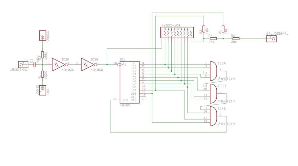 1st iteration of the scanner divider circuit by johngineer