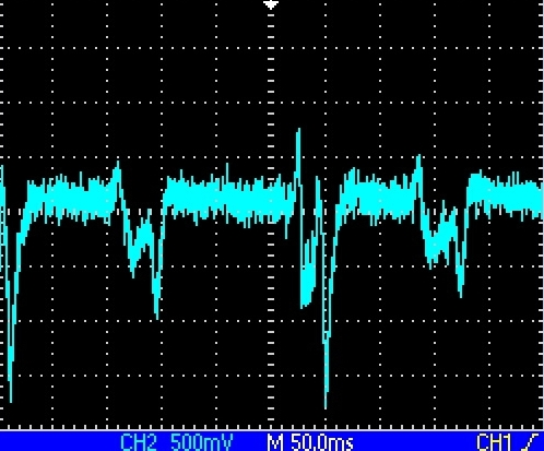 Signal from PMT - bipolar