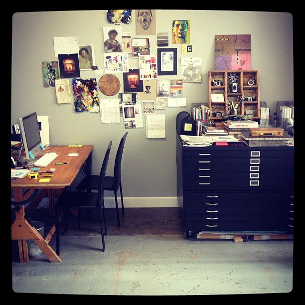 Art studio. (Taken with  Instagram )