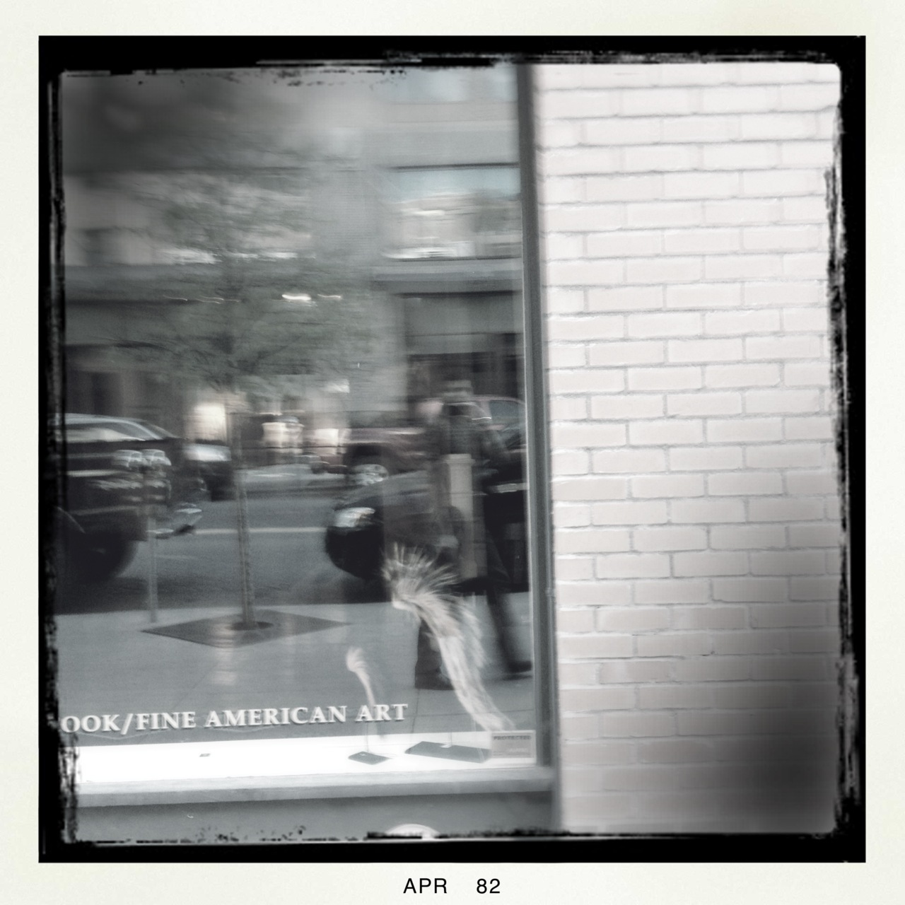 Street shooting…  Americana Lens, BlacKeys B+W Film, No Flash, Taken with  Hipstamatic