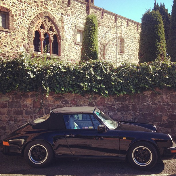 gadlinscanvas :     Late 911 in La Napoule, France. (Taken with  Instagram  at Chateau de La Napoule)