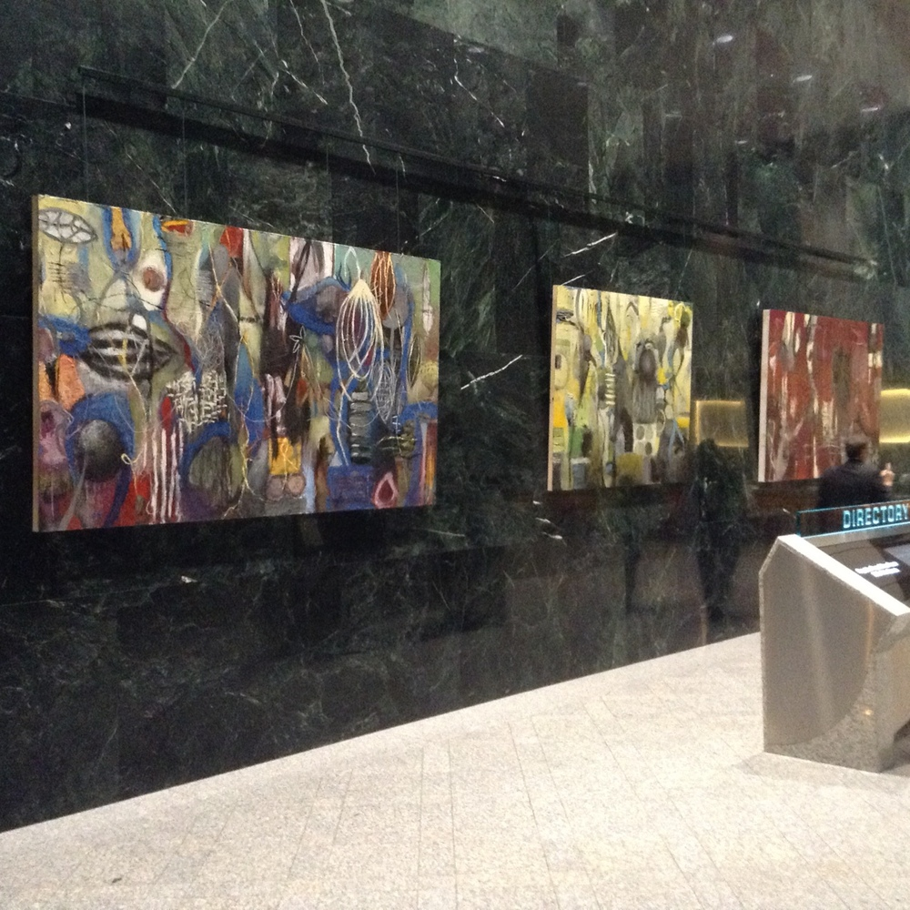 The   Divergence   exhibit @ReublicPlaza.