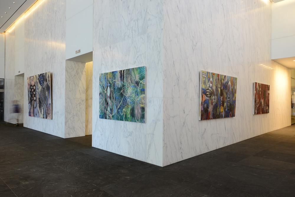 Solo exhibit at ArtsBrookfield 1801 Lobby