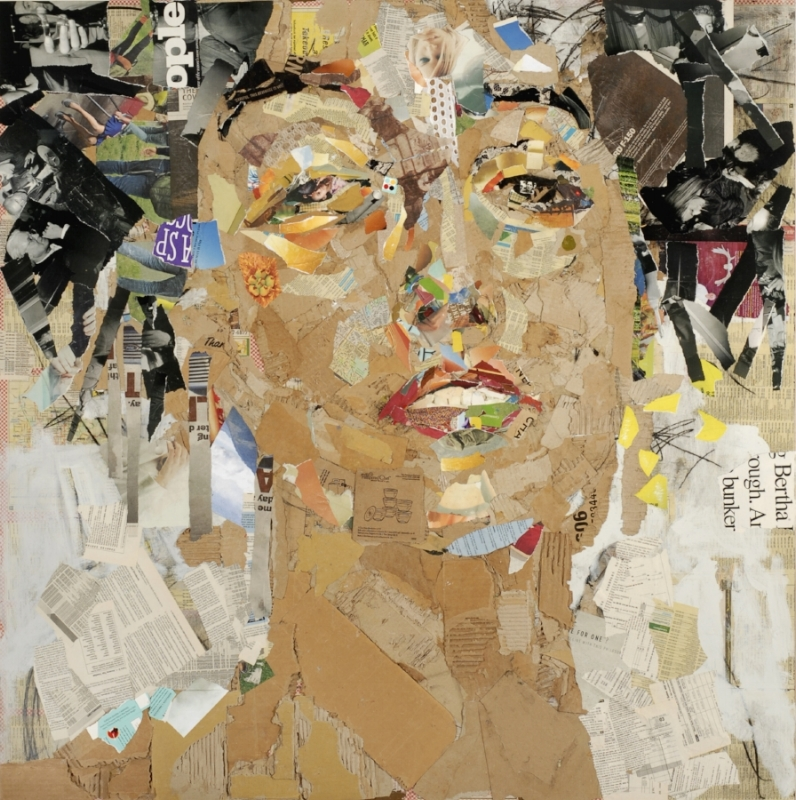 The Muse (After Klimt)