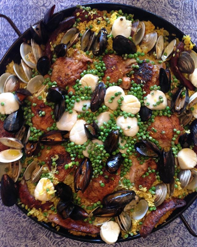 #paella for a #dayoff #summertime at #home