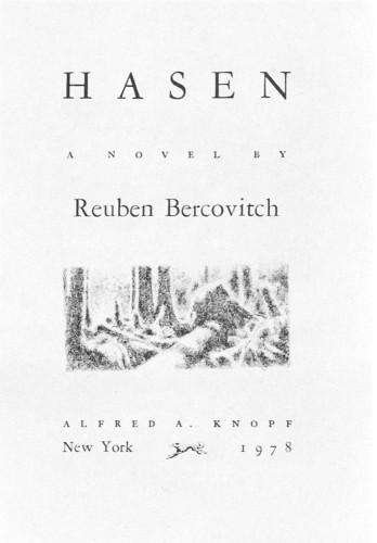1979 – Reuben Bercovitch for  Hasen