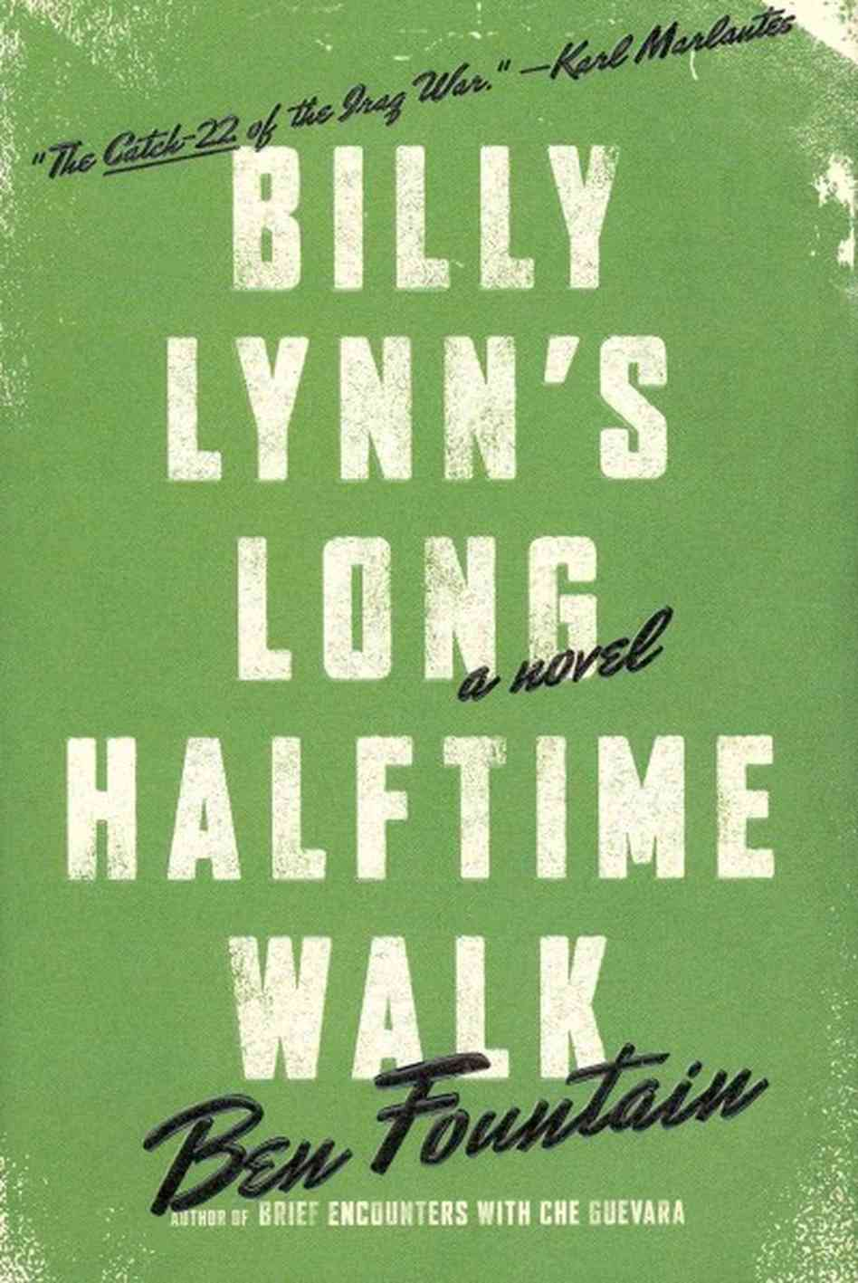 2012 - Ben Fountain for  Billy Lynn's Long Halftime Walk