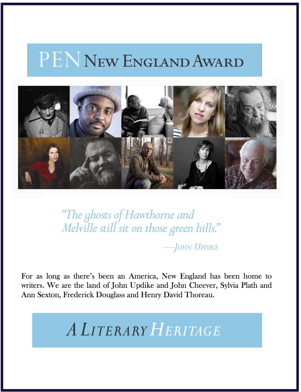 PEN+NE Awards