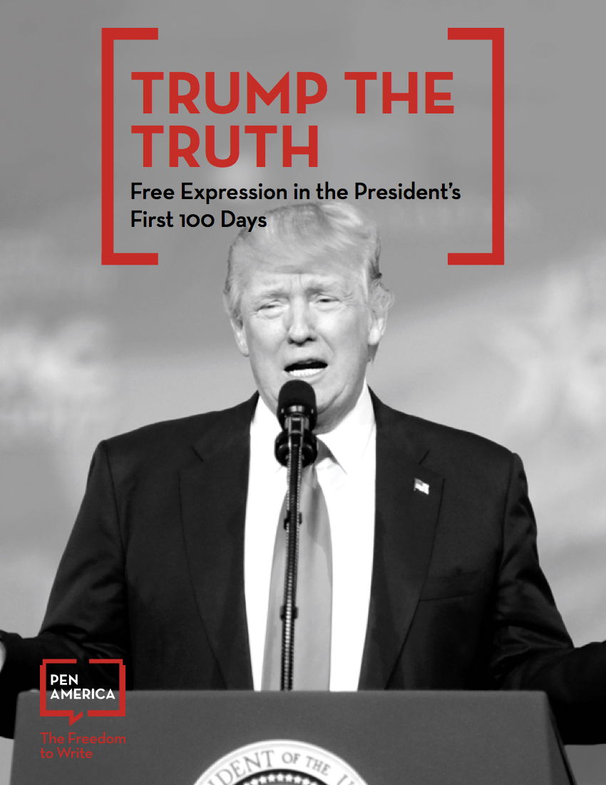 FREE EXPRESSION IN THE PRESIDENT'S FIRST 100 DAYS