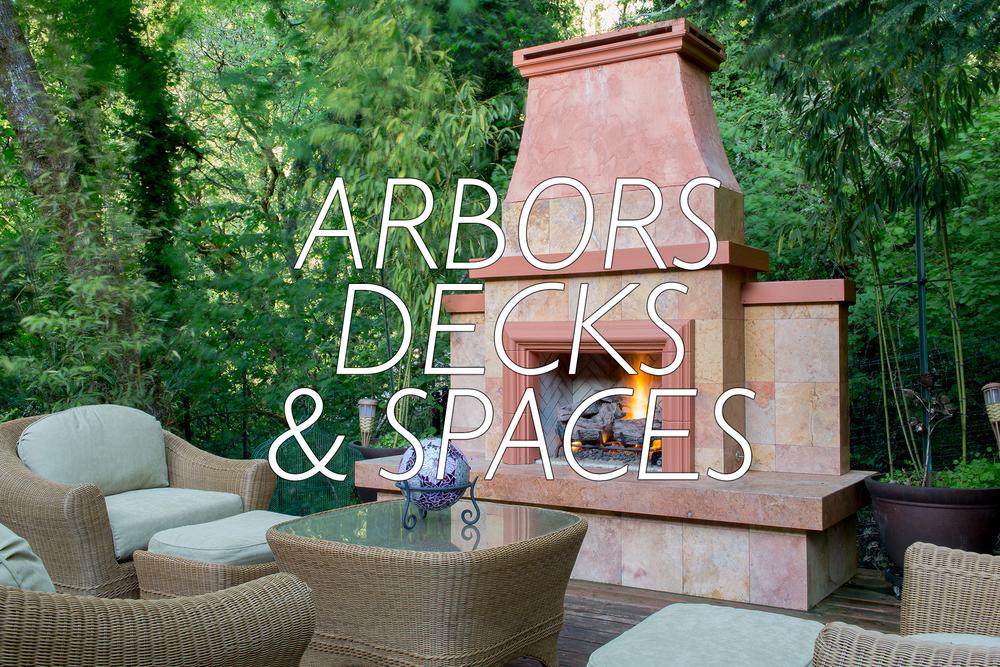 arbors decks patios