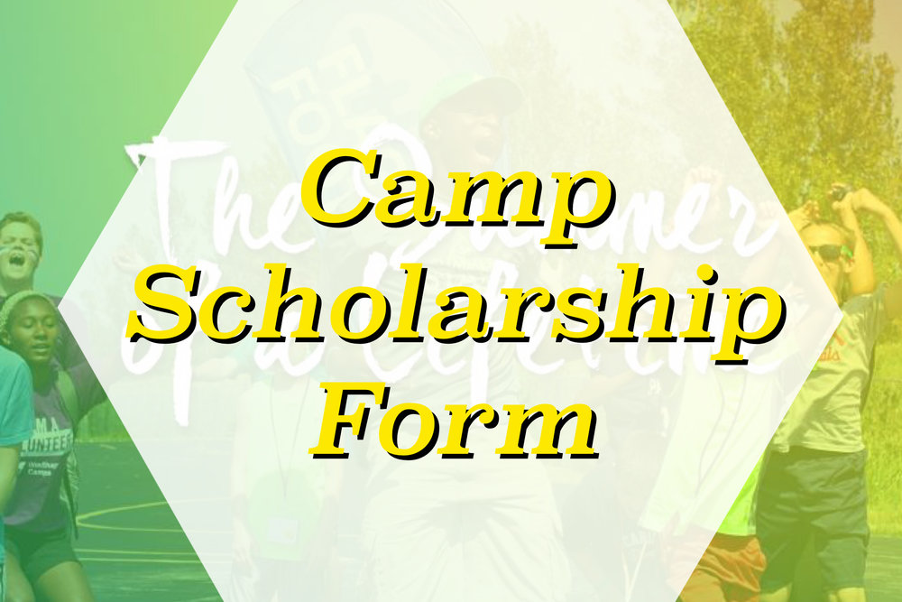 Camp Scholarship Form
