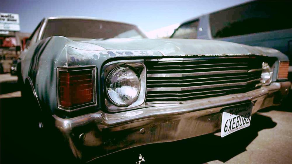 The 1972 Malibu in all its glory. (Pre-destruction)