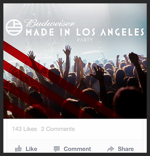 Here's a Budweiser ad thats buzzing around Facebook. The EDM scene is hot right now and it's a important to be present as a brand.