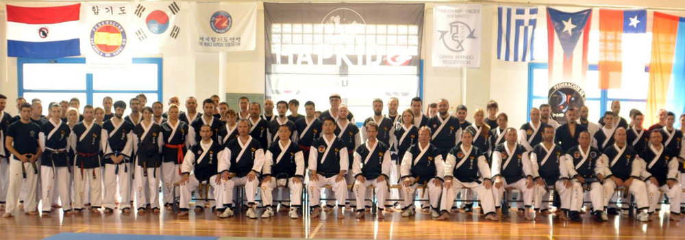 WORLD HAPKIDO FEDERATION Seminar 2012 - Athens Greece