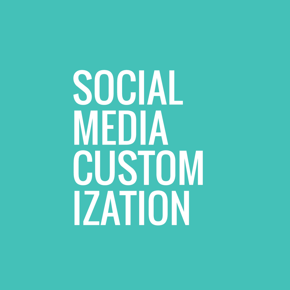 we increase your brand's exposure by customizing all of your social media.